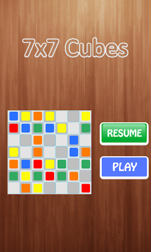 7x7 Cubes