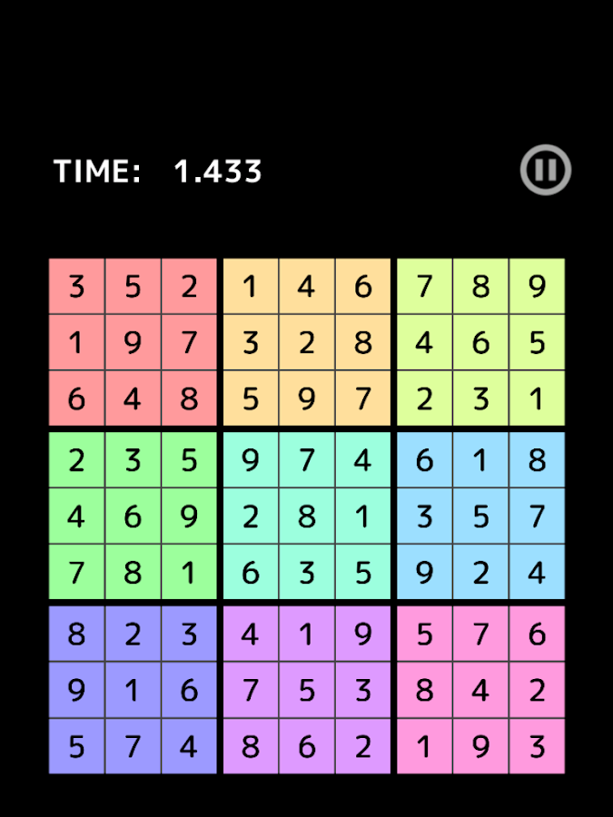 Rotate Number Place- screenshot