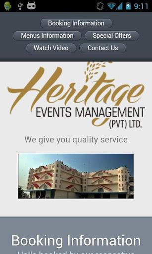 Heritage Events
