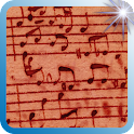 Music Note Paper Backgrounds icon