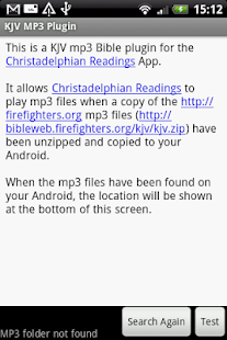 KJV Plugin (Firefighters MP3) - screenshot thumbnail