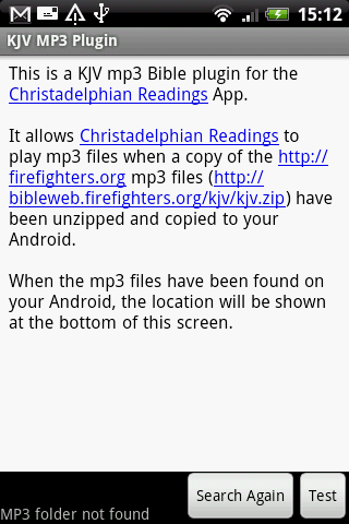 KJV Plugin (Firefighters MP3) - screenshot