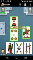 Screenshot of La Escoba / Scopa a 15