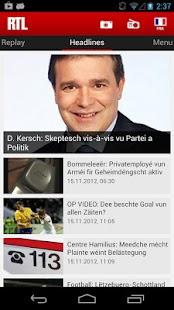 RTL.lu- screenshot thumbnail