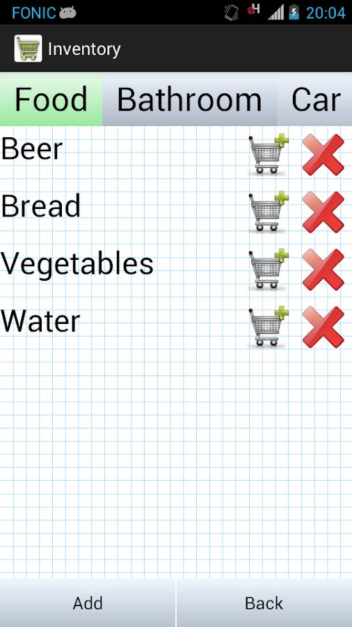 Shopping List Pro - screenshot