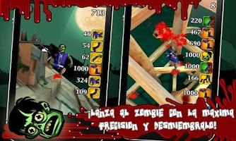 Screenshot of Push the Zombie