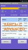 Screenshot of SanCalc