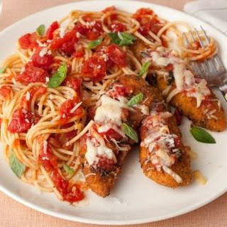 Parmigiano and Herb Chicken Breast Tenders Recipe