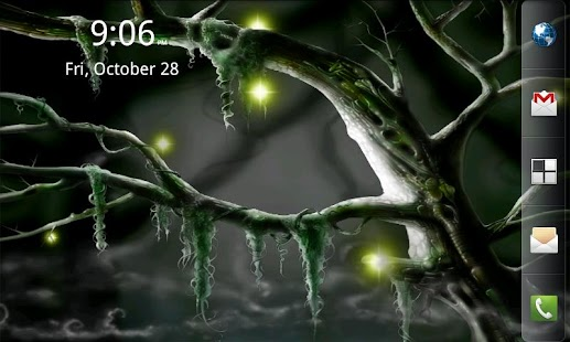 Biomechanical Bog Wallpaper- screenshot thumbnail
