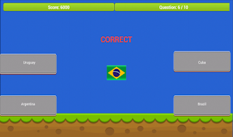 Screenshot of Flags of the World Quiz