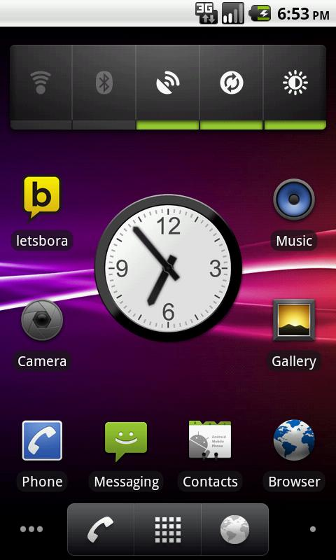 Office Analog Clock - Donate - screenshot
