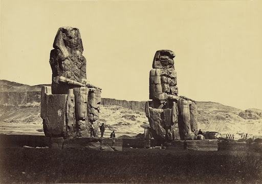 [Upper Egypt - Colossi of Memnon, Thebes]