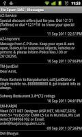 Screenshot of No Spam Sms