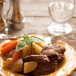 Slow Cooker Pot Roast with Potatoes (A One Pot Hassle Free Meal).