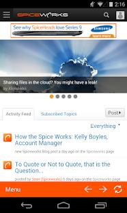 Spiceworks - screenshot thumbnail