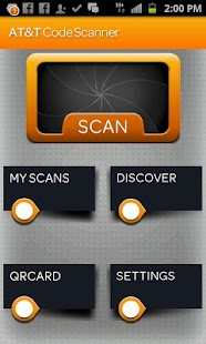 AT&T Code Scanner: QR,UPC & DM - screenshot thumbnail