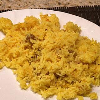 Saffron Rice.