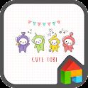 cute tobi dodol theme icon