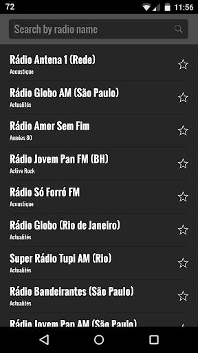 ブラジルをラジオします。