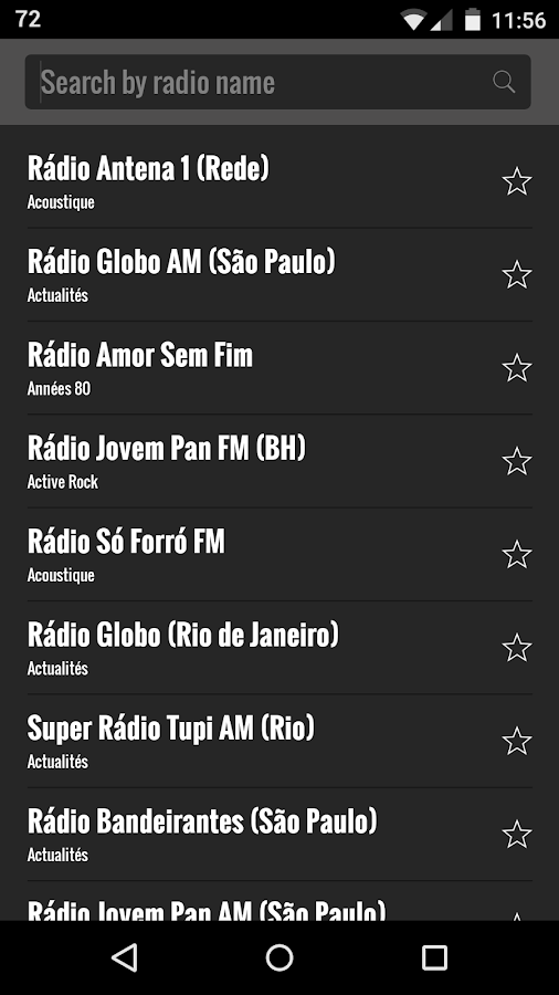 Radio Brazil- screenshot