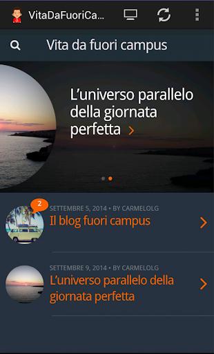VitaDaFuoriCampus Blog
