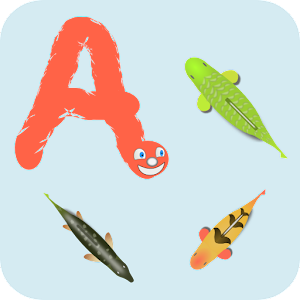 Worm alphabet for dyslexia for Android