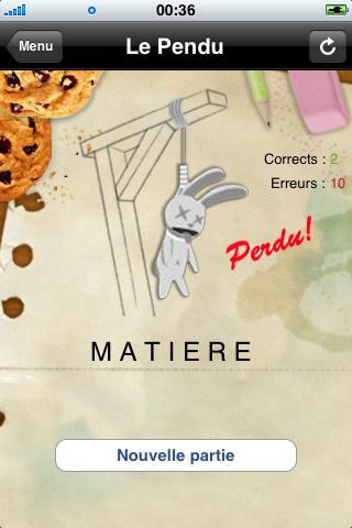 Le Pendu - screenshot