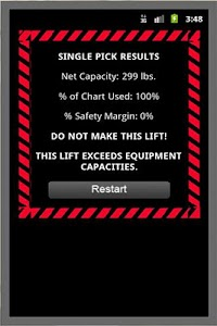 Crane Lift Calculator screenshot 1