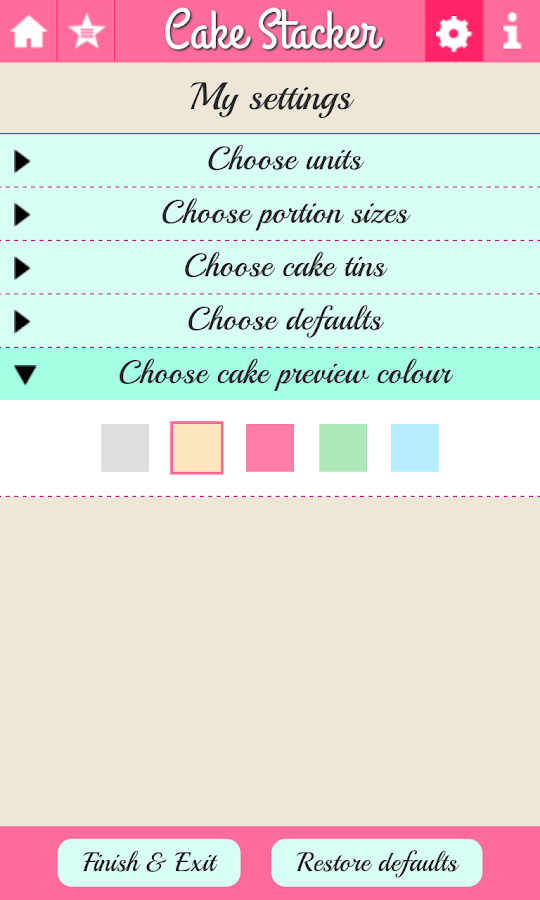 Cake Stacker- screenshot