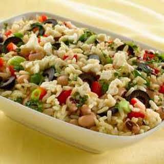 Rice & Black Eyed Pea Salad.