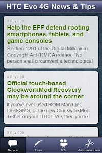 HTC Evo 4G News & Tips screenshot 1