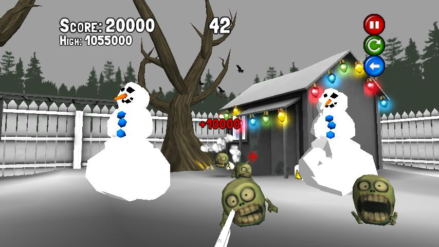 A XMas Game WITH ZOMBIES! - screenshot