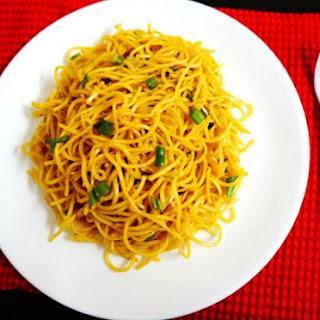 How To Make Masala Garlic Ramen Noodles.