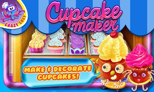 Cupcake Maker Crazy Chef - screenshot thumbnail