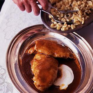 Paprika Chicken with Egg Dumplings.