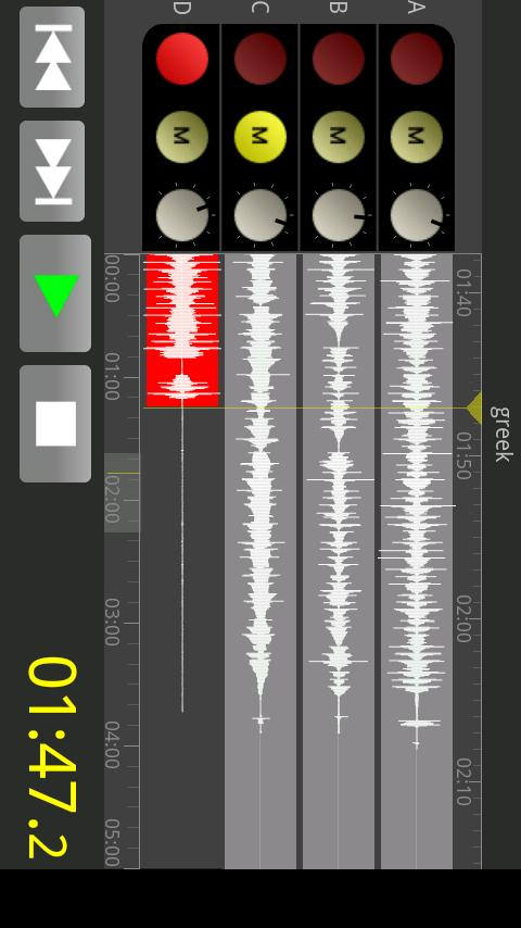 FourTracks Lite - screenshot