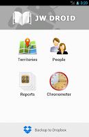Screenshot of JW Droid