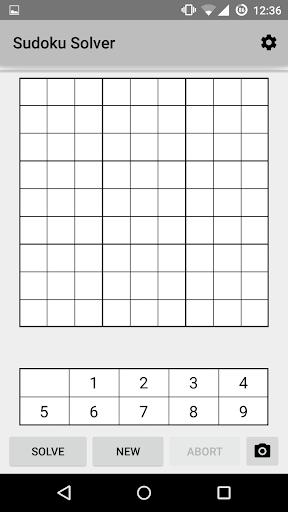 Sudoku Solver + Camera