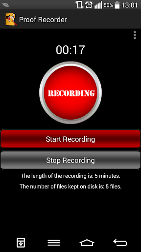 Proof Recorder free