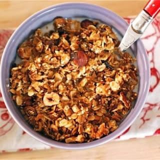 Hazelnut & Cocoa Nib Granola