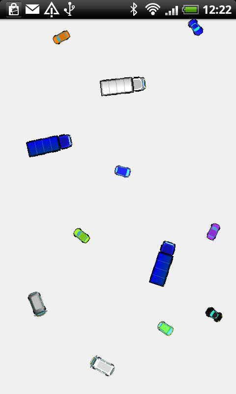 Energetic cars- screenshot