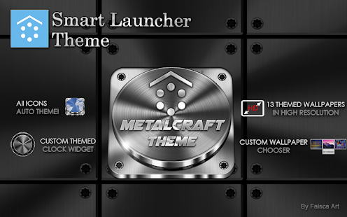 Smart Launcher Metalcraft