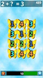 Butterfly Math Lite - screenshot thumbnail