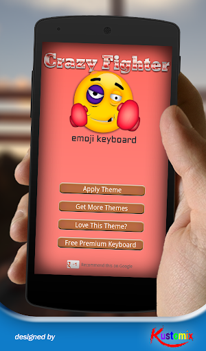 Crazy Fighter Emoji Keyboard