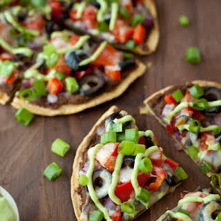 Skinny Mexican pizza.