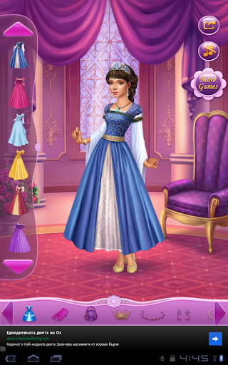 玩娛樂App|Dress Up Princess Thumbelina免費|APP試玩