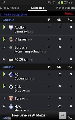 Europa League Live 2014 2015