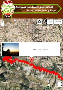 Rutas del Sol, Enjoy Routing: miniatura de captura de pantalla