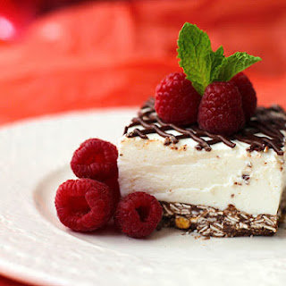 Coconut Mousse Cheesecake Bars.