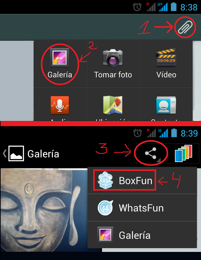BoxFun for Chats - screenshot